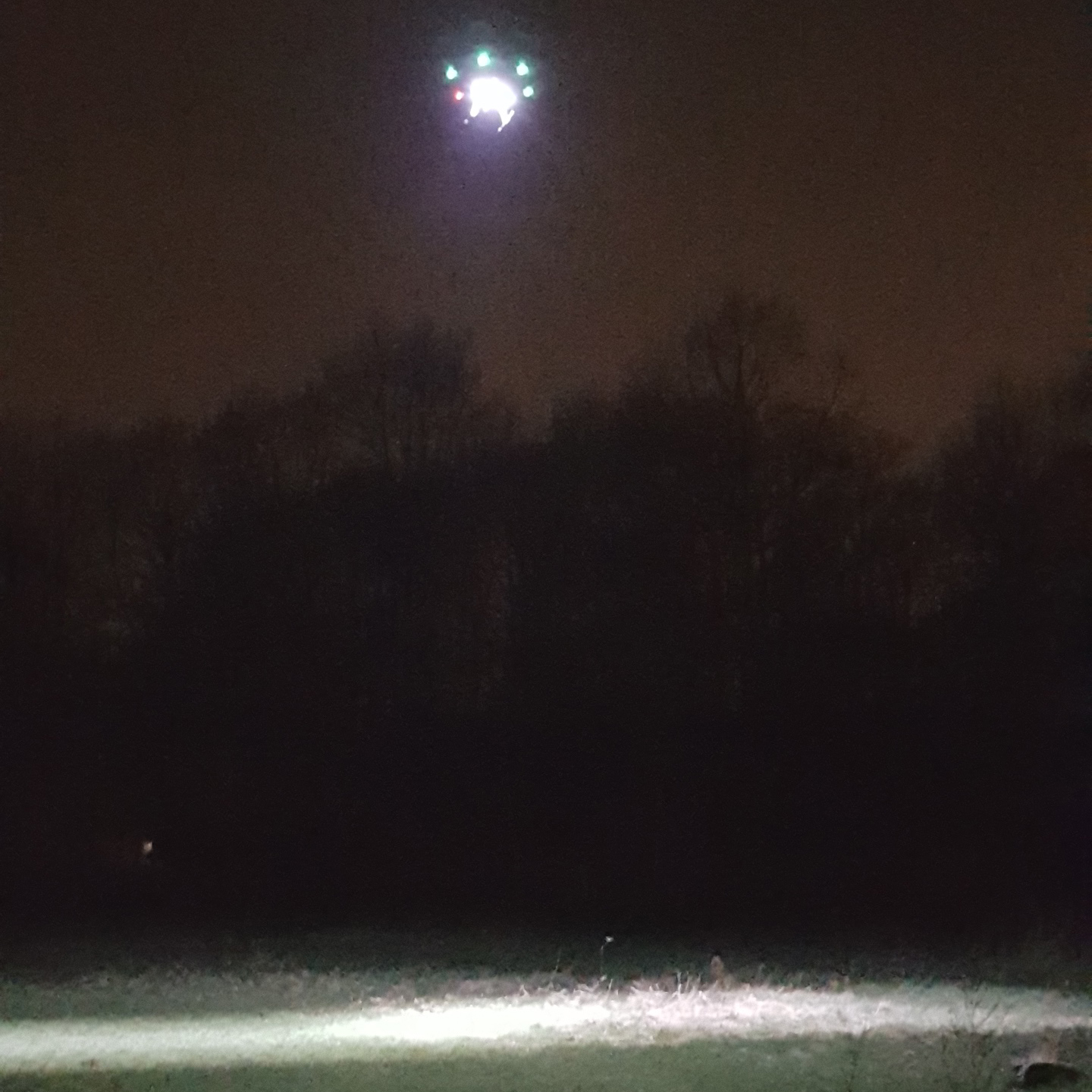 LED drone search and rescue