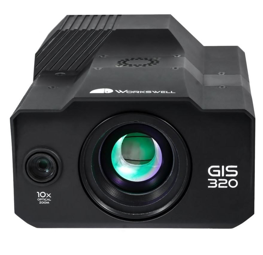 workswell gis 320 gas detection camera